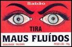Rituele zeep `Tira Maus Fluídos` van het merk Talismã.
